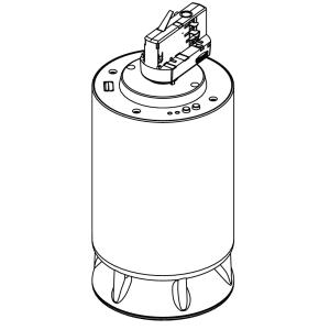 Spottune Omni Track kabelloser Lautsprecher für 3-Phasen-Stromschienen grau