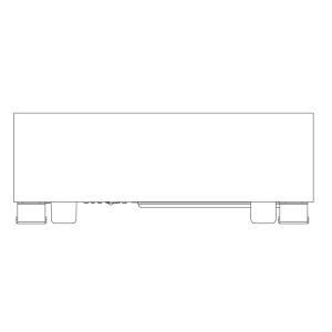 Spottune Sub kabelloser Subwoofer für Spottune Sound-System in schwarz