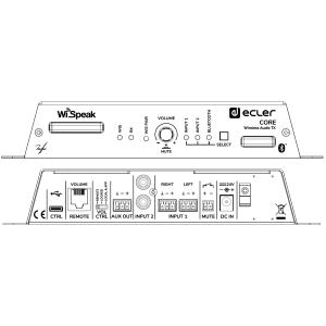 Ecler WiSpeak CORE kabelloser Musik-Transmitter /...