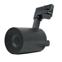 Ecler WiSpeak TUBE kabelloser Lautsprecher für die 3-Phasen-Stromschiene schwarz